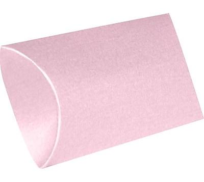 LUX Small Pillow Boxes (2 x 3/4 x 3) 50/Box, Rose Quartz Metallic (SPB-M75-50)