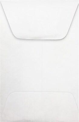 LUX #1 Coin Envelopes (2 1/4 x 3 1/2) 500/Box, 14lb. Tyvek (1CO-14T-500)