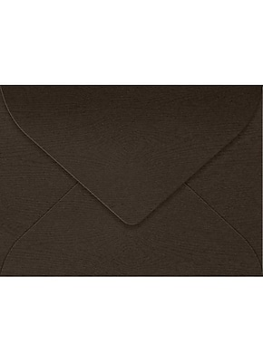 LUX #17 Mini Envelopes (2 11/16 x 3 11/16) 50/Box, Teak Woodgrain (LEVC-S03-50)