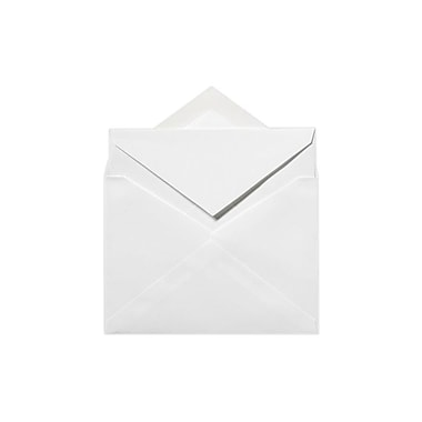 LUX Royal Outer Envelopes (7 3/8 x 7 1/2) 1000/Box, Brilliant White - 100% Cotton (ROYOUTERSBW1000)