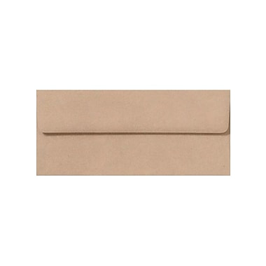 LUX #10 Square Flap Envelopes (#10) - Oatmeal - Pack of 250 (2444881)