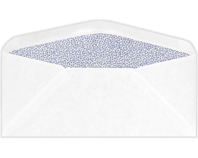 LUX #11 Regular Envelopes (#11) - White w/ Security Tint - Pack of 250 (2444827)