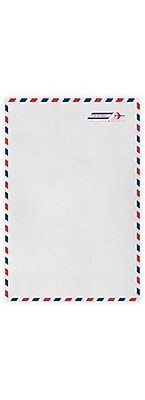 LUX 9 x 12 Open End Envelopes (9 x 12) - Airmail - Pack of 50 (2444749)