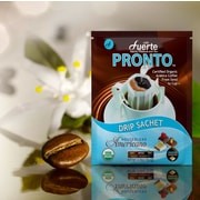FUERTE® Pronto® Americano™ Drip Bag Organic Arabica Coffee, House Blend, Pack of 18 (PAH-92)
