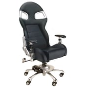 "Intro-Tech F08000B Formula One Chair, 53"" x 27.5"" x 22"", 81 lbs, Black, (1) 53"" x 24"" x 12"" (2) 28"" x 28"" x 10"", 79 lbs."