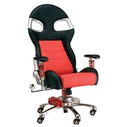"Intro-Tech F08000R Formula One Chair, 53"" x 27.5"" x 22"", 81 lbs, Red, (1) 53"" x 24"" x 12"" (2) 28"" x 28"" x 10"", 79 lbs."