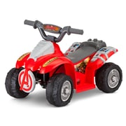 KidTrax 6V Marvel Avengers Toddler Quad, Red