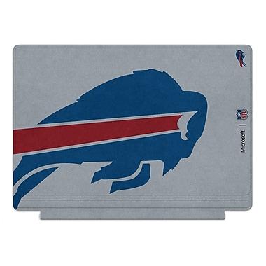 Microsoft – Clavier Type Cover édition spéciale de la NFL pour Surface Pro 4, Buffalo Bills