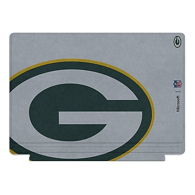 Microsoft – Clavier Type Cover édition spéciale de la NFL pour Surface Pro 4, Green Bay Packers