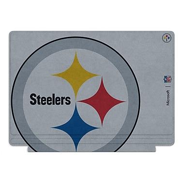 Microsoft – Clavier Type Cover édition spéciale de la NFL pour Surface Pro 4, Pittsburgh Steelers
