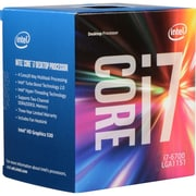 Intel Core i7-6700 Quad-Core Processor, Socket LGA1151, 3.4 GHz, 8 MB L3 Cache, 14nm, Retail Boxed, Gen6 (BX80662I76700)