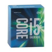 Intel Core i5-6600K Quad-Core Processor, Socket LGA1151, 3.5 GHz, 6 MB L3 Cache, 14nm, Retail Boxed, Gen6 (BX80662I56600K)