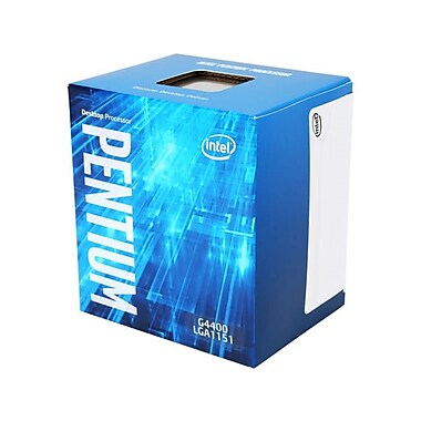 Intel – Processeur Pentium G4400, LGA1151, 3,3 GHz, mémoire cache 3 Mo 64 bit (BX80662G4400)