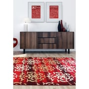 ecarpetgallery Crown Rugs, Red