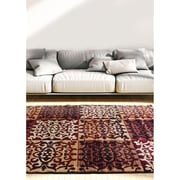 ecarpetgallery Crown Rugs, Burgundy