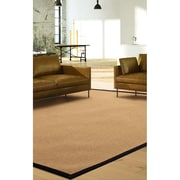 "ECARPETGALLERY 5'0"" x 8'0"" Sisal-collection Rug, Light Khaki"