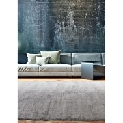 ecarpetgallery Plush Velours Shags, Grey