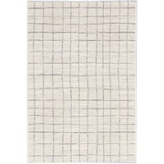 "ecarpetgallery 5'3"" x 7'3"" Noto Rug, Cream/Ivory/Light Grey"