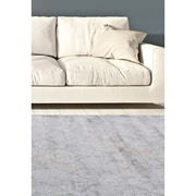 "ecarpetgallery 3'11"" x 5'3"" Eden Rug, Dark Grey/Light Grey"