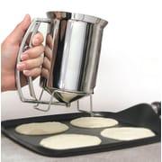 Handy Gourmet Stainless Steel Pancake Batter Dispenser (JB4672)