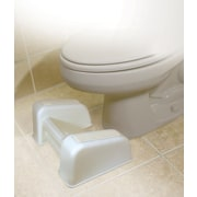 North American + Wellness Re-Lax Toilet Foot Rest Plastic White (JB6398)