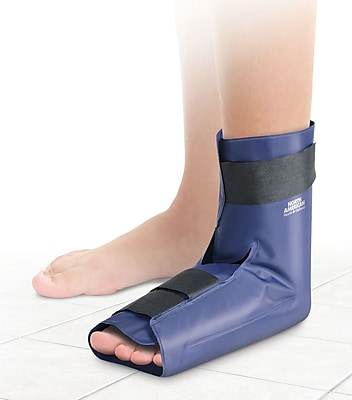 North American Health + Wellness Hot and Cold Gel Foot Wrap S/M Blue (JB7574S/M)
