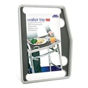 North American Health + Wellness Walker Tray with Grip Mat Gray (JB7591GRA)