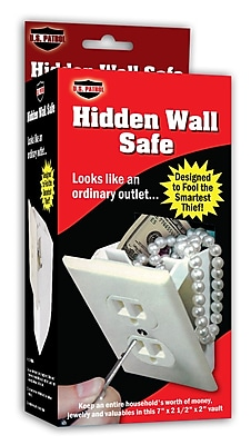 U.S. Patrol Key lock Hidden Wall Safe (JH558)