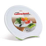 "Handy Gourmet 18"" X 17.25"" Corner Cutting Board- Green"