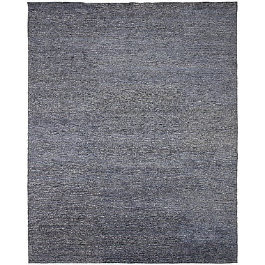 Shalom Brothers Horizon Hand-Knotted Blue/Gray Area Rug; 9' x 12'
