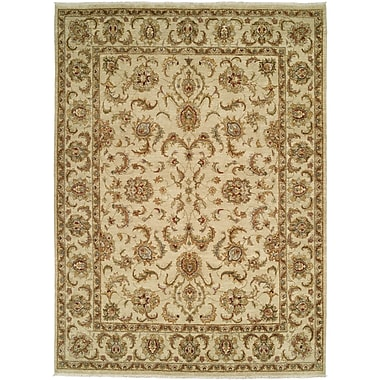 Shalom Brothers Royal Zeigler Hand-Knotted Beige Area Rug; 8' x 10'