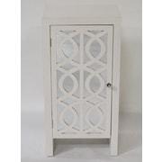 Heather Ann Cabinet w/ Mirror; White