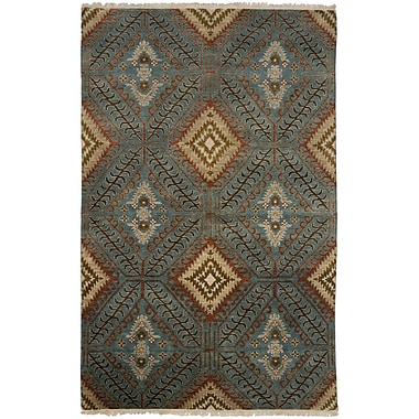 Shalom Brothers Tucson Hand-Knotted Blue Area Rug; 10' x 14'