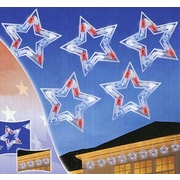 Sienna 5 Light LED Patriotic Star Lights Decoration