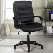 A&J Homes Studio Executive Chair; Black