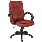A&J Homes Studio Executive Chair; Red