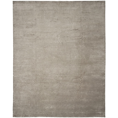 Shalom Brothers Broadway Hand-Knotted Beige Area Rug; 6' x 9'