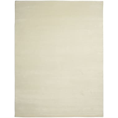 Shalom Brothers Broadway Hand-Knotted Beige Area Rug; 2' x 3'