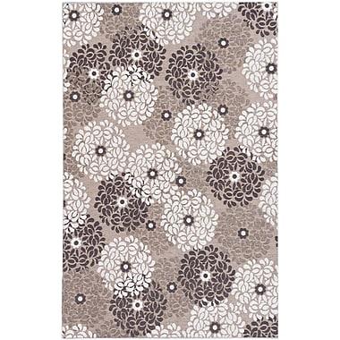 Ecarpetgallery – Tapis Portico FKI1, 4 x 6 pi, crème/gris