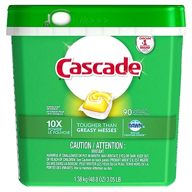 Cascade Action Packs, Lemon Scent (07041)