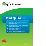 Quickbooks – Logiciel Desktop Pro 2017 (1 utilisateur) [Téléchargement]
