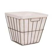 BirdRock Home Office Wire Basket with Liner (4672)