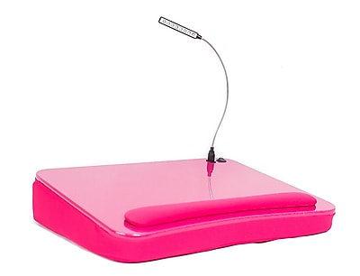 Sofia + Sam Memory Foam Lapdesk with USB Light Pink (5038)
