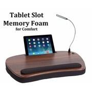 92e0cd8e213a Sofia + Sam Oversized Lapdesk With USB Light and Tablet Slot Wood Top (5003)
