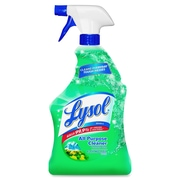 Lysol Fresh All Purpose Cleaner, Ready-To-Use Spray, 0.25 gal , Mountain Fresh ScentBottle, 12/Carton, Blue (RAC80313CT)