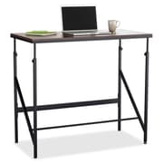 "Safco® Elevate™ 48""W, Standing-Height Desk, Walnut/Black (1957WL)"