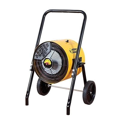 TPI Fostoria® Heat Wave™ 51195 BTU Portable Electric Salamander Heater, Yellow (FES15241A)