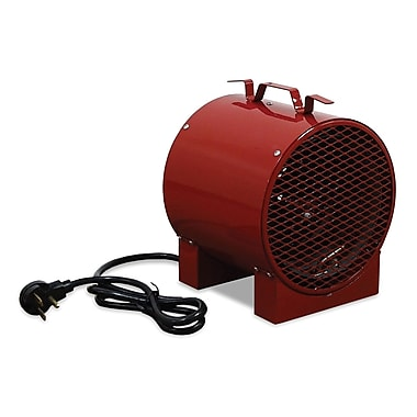 TPI 13648 BTU Construction Site/Utility Fan Forced Portable Electric Heater, Red (ICH240C)