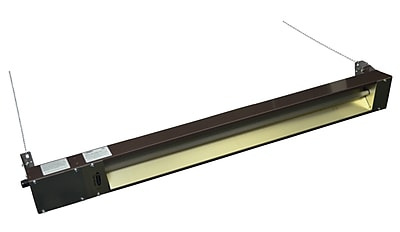 TPI Fostoria® 5120 BTU Rated Quartz Electric Infrared Heater, Brown (OCH46120VE)