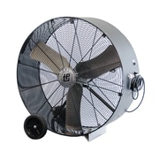"TPI 30"" Industrial Direct Drive Portable Blower Fan, Gray/Black/Silver (PB30D)"